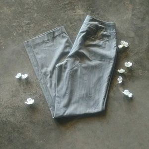 Investments Heathered Gray Dress Pants 12L